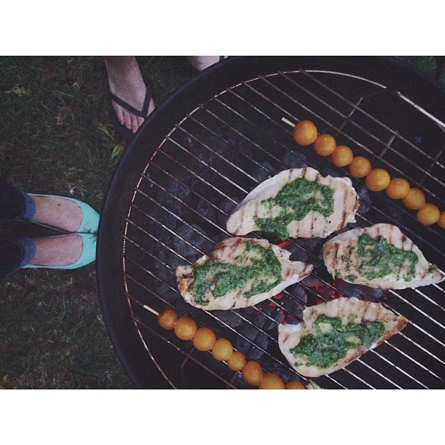 Remember when it wasn't raining and it was like 90 degrees and sunny all the time? Perfect grilling weather. Photo by  @sarahlanette .