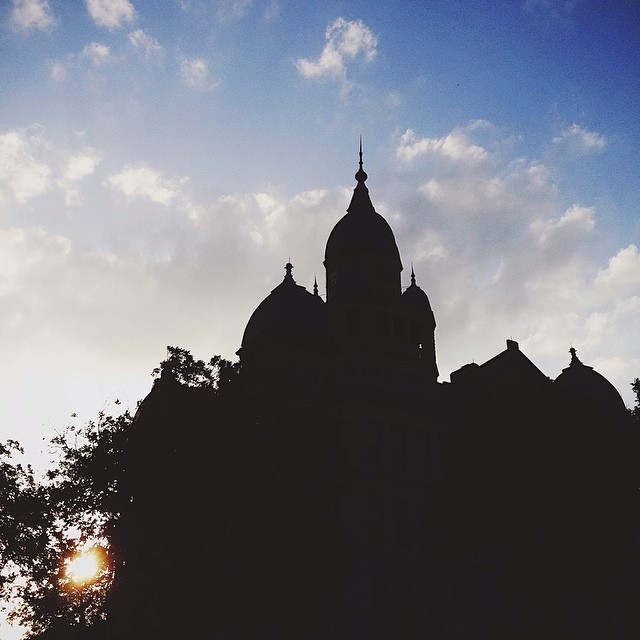Requisite courthouse silhouette by  Ian Harber.