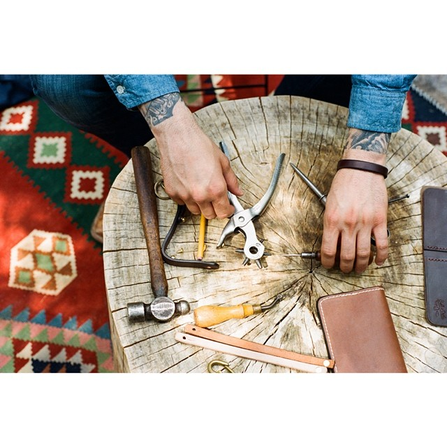 Bell and Oak and tools. Have y'all replaced your wallet with one from Bell and Oak yet? We love ours.