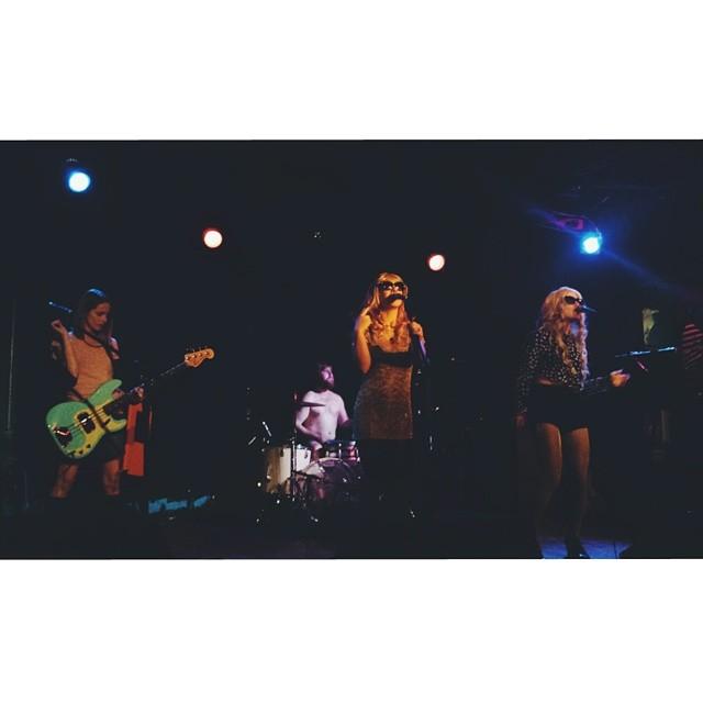 The Casket Girls at Dan's Silverleaf last week.