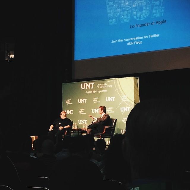 Oh yeah! Steve Wozniak was in town last week.