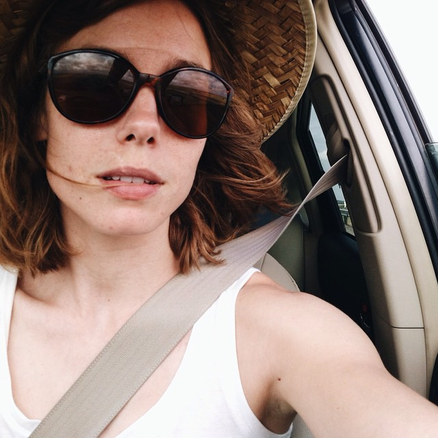 @MelissaLaree, some sweet shades, and a windswept selfie.