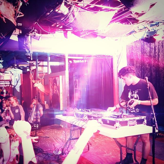 Neon Indian DJ set Saturday night.