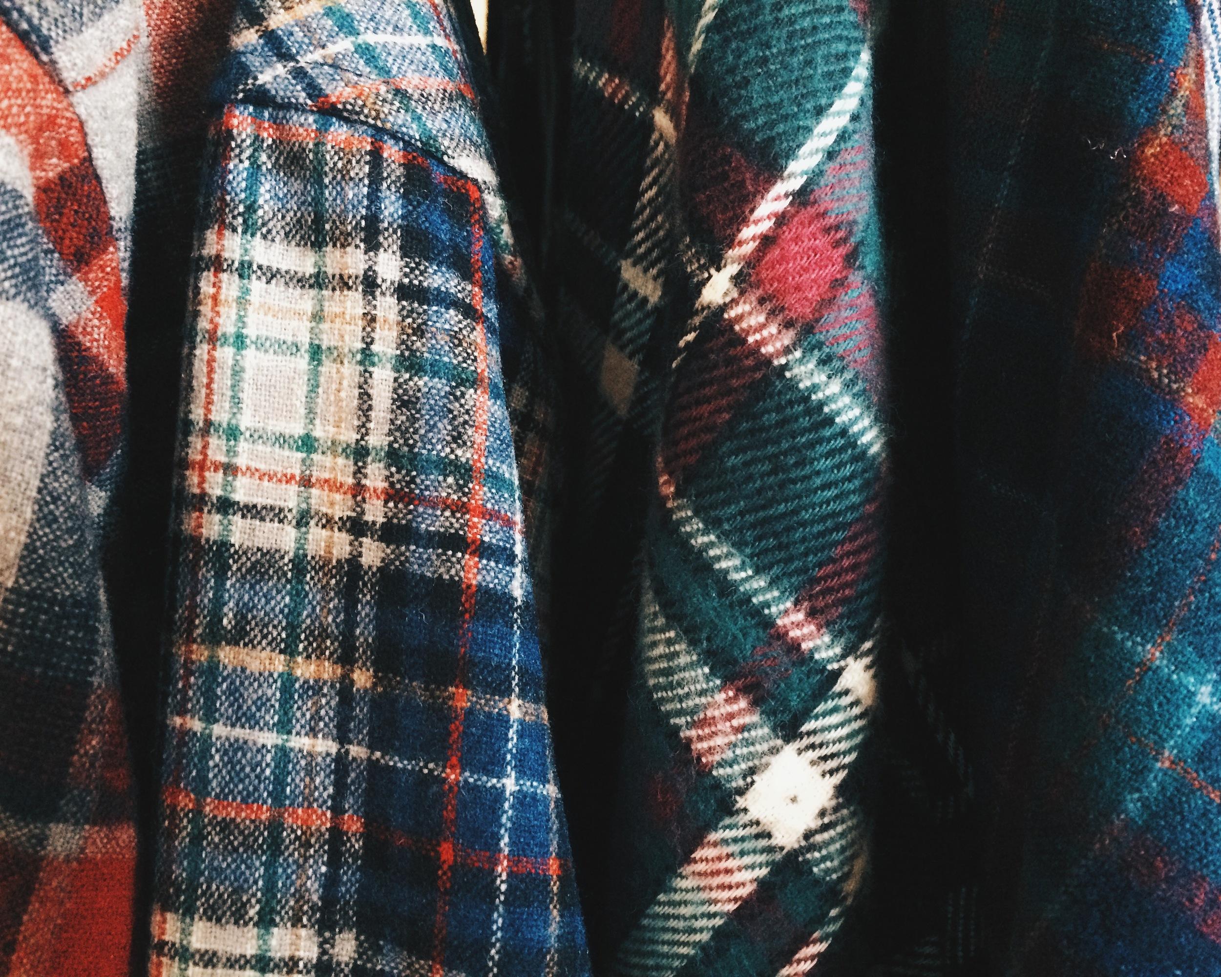 Wool and wool and wool and wool at Dime Handmade. Go get warm with Pendleton.
