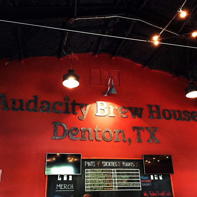 Audacity Brew House opened to the public last Friday.