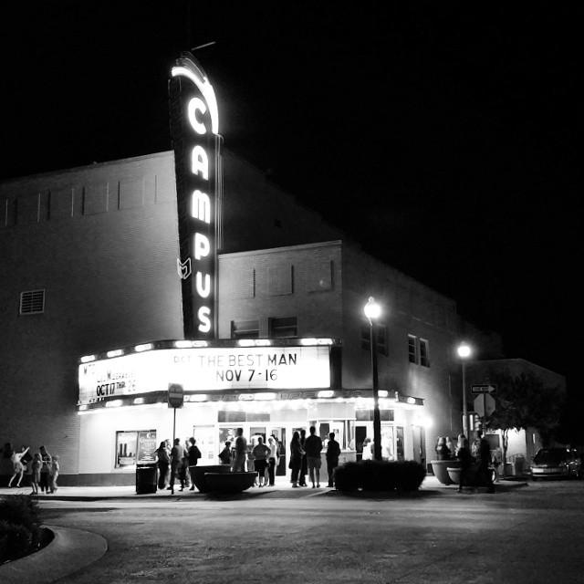 Campus Theatre by Denton Camera Exchange.