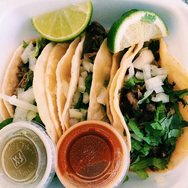 ...and finally...tacos. El Taco Rico by Shaina Sheaff.