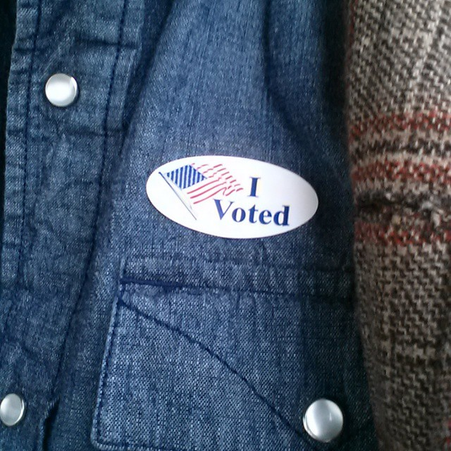 Oh yeah and that whole election thing happened. Y'all know about all that stuff, right?