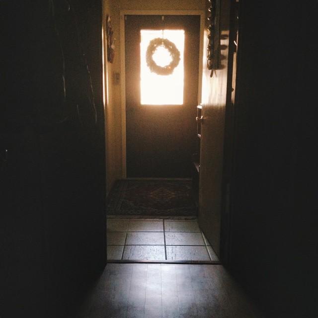 Holidays and shadows.