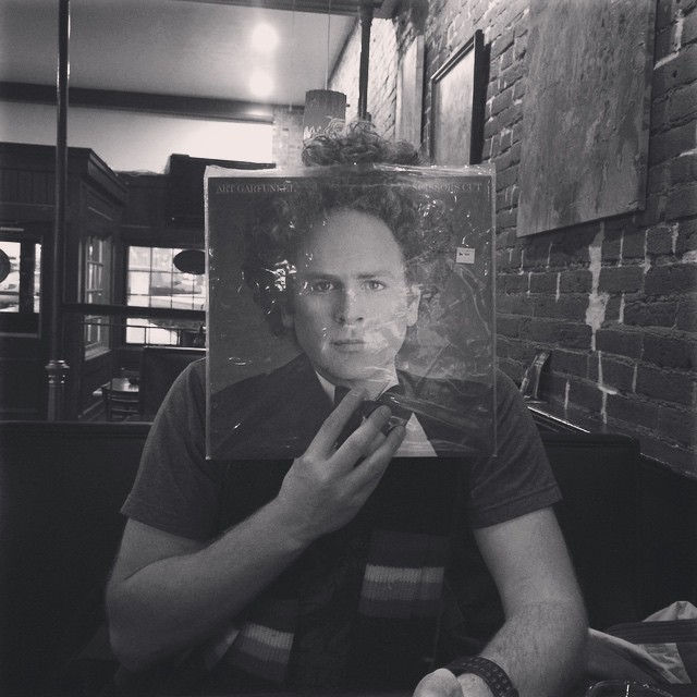 @SaraButton grabbed a quick beer with Art Garfunkel.