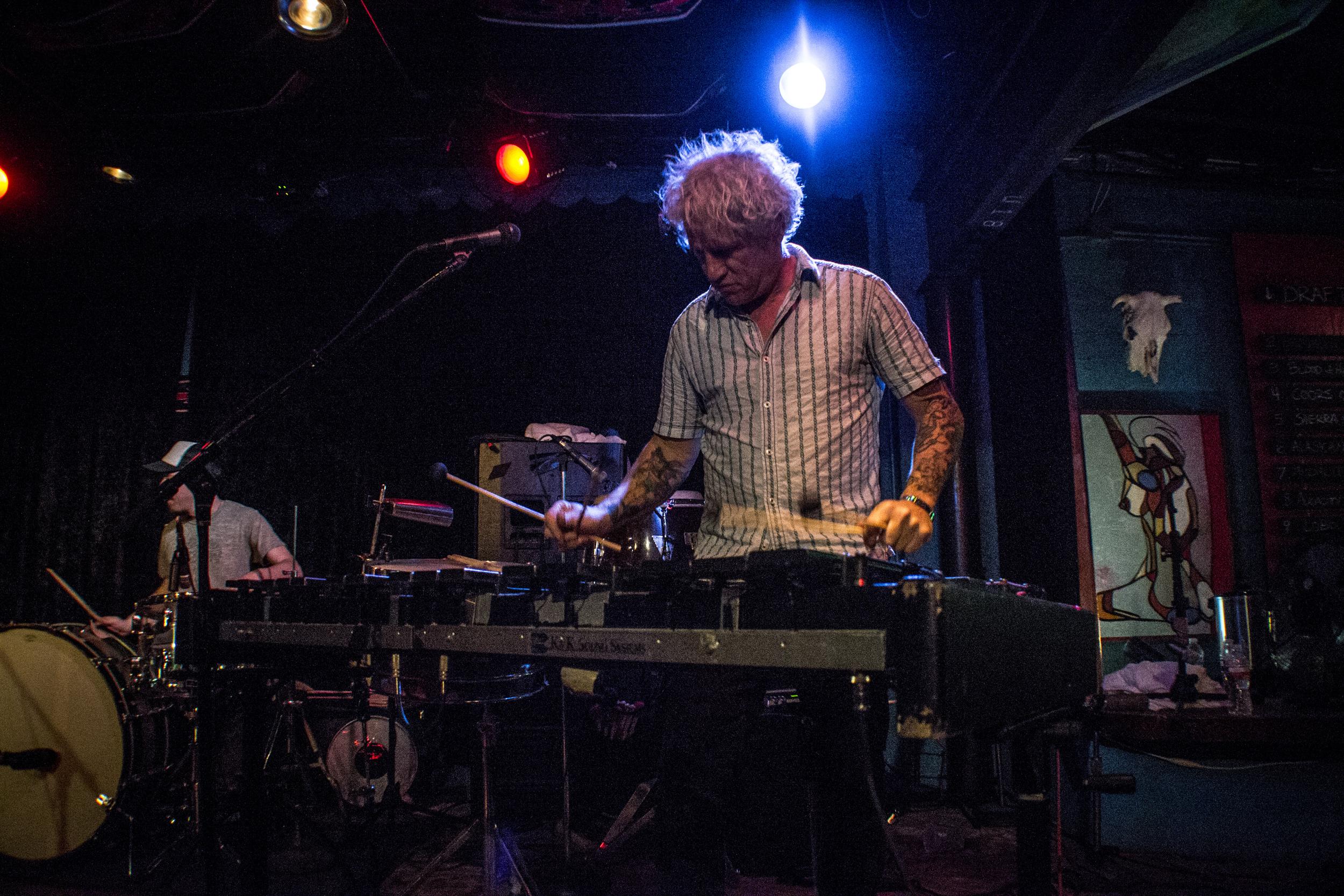 Mike Dillon Band at Dan's Silverleaf. Photo by  Cynthia Pantaleon.