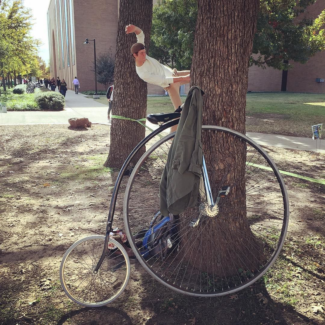 @fussbudgets caught some strangeness going on at UNT.