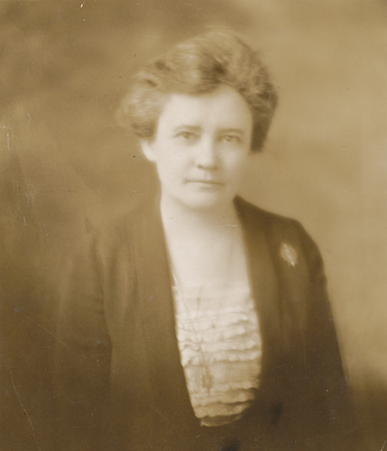 Annie Webb Blanton didn't just fight the sexist Patriarchy, she kicked-in its door and clubbed it over the head with her grammar textbook and this ice-cold glare of defiance.