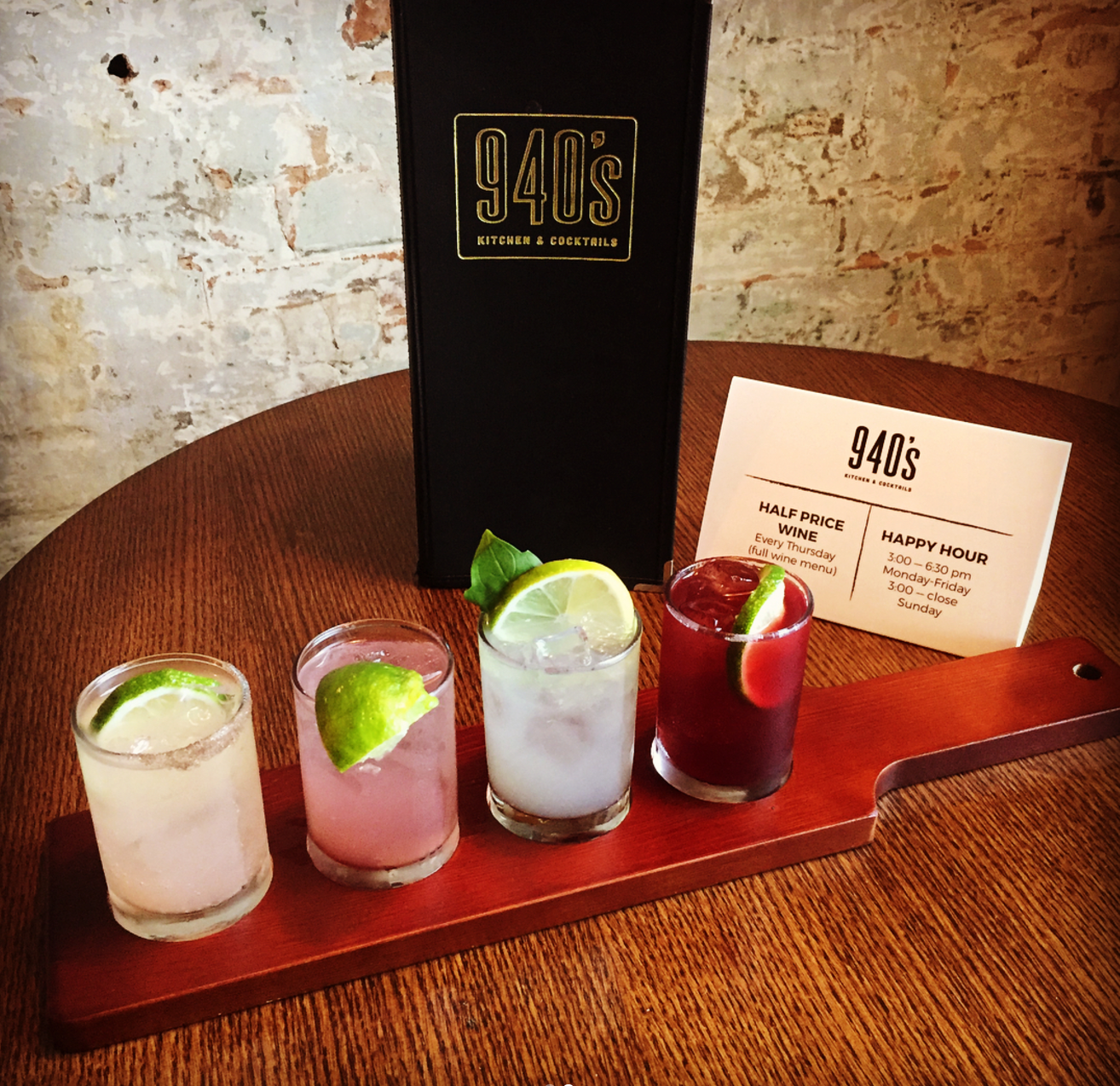 We can't wait to head over to @940skc and try their new flight of cocktails on tap.