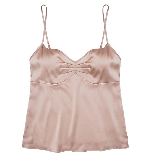Julianne Samantha Cami, $78.00.  Literally the most modern yet classic camisole we have encountered. Should be a basic in every woman's closet. Versatile and incredibly special.