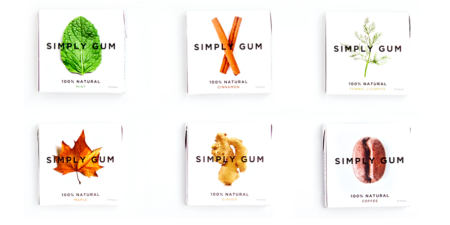 Simply Gum! Made with fewest ingredients possible and no synthetic flavors. Finally, agum after our own heart!