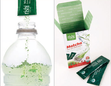 Matcha Powder Packs - Organic Green Tea on the go, free of sugar, flavorings, and colorants. Just pure antioxidant power in your purse.