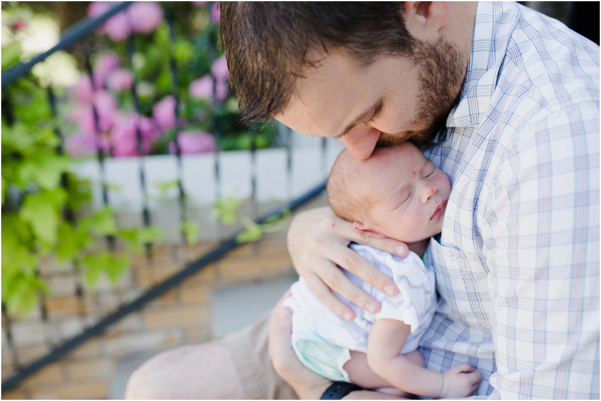 Father-and-Son-Newborn-Photo