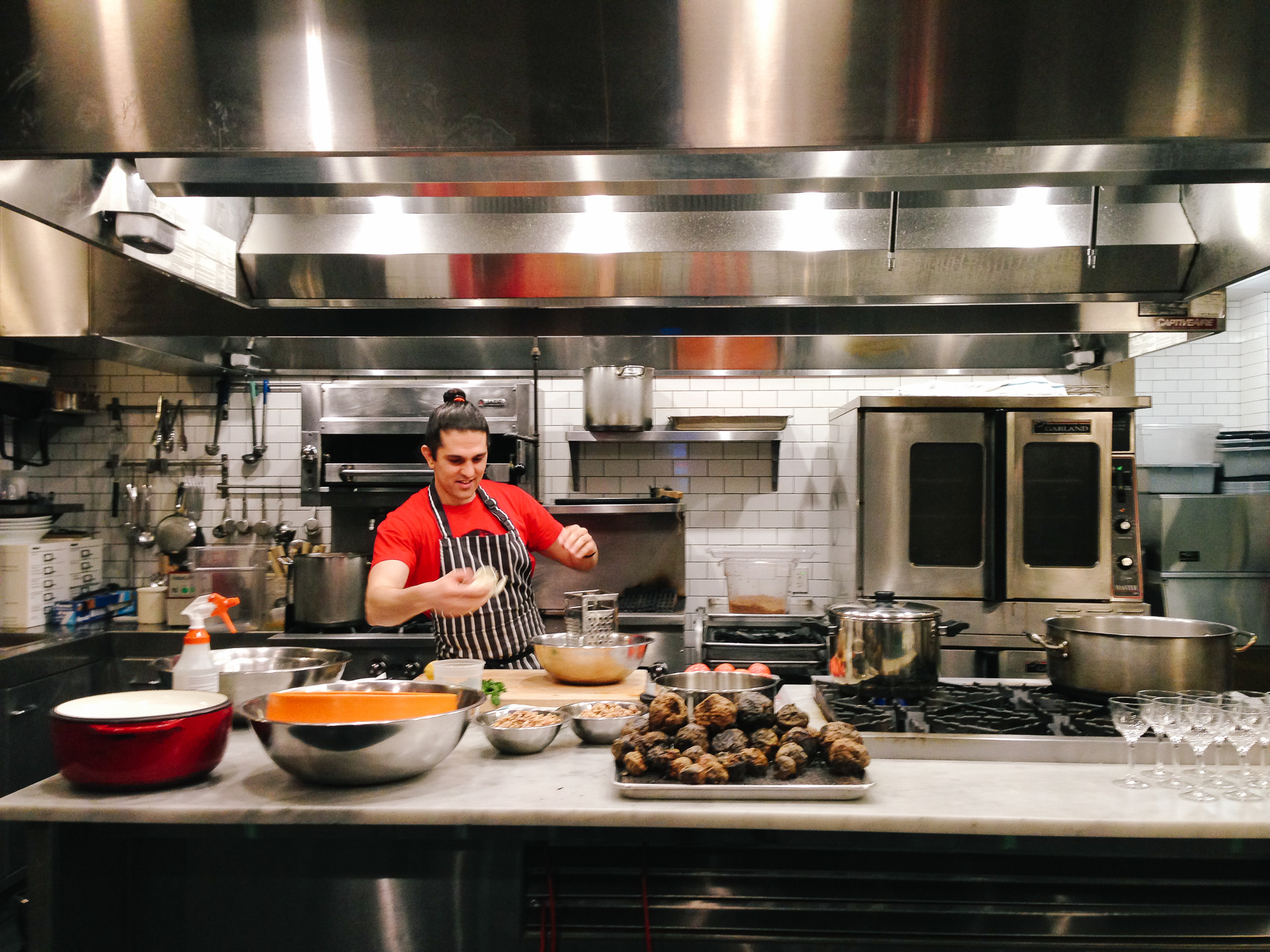HAVEN'S KITCHEN, NYC The Art of Couscous Class, 2015