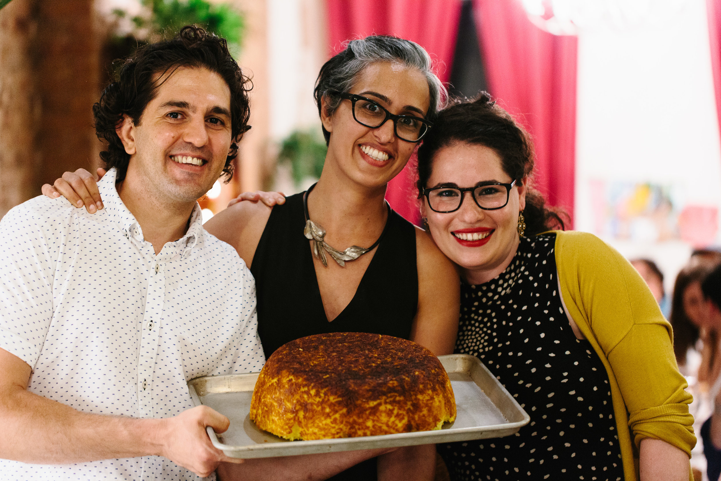 NEW YORK SHUK hosts The White Moustache for a Persian Feast to celebrate the holiday of Shavuot, NYC, 2016