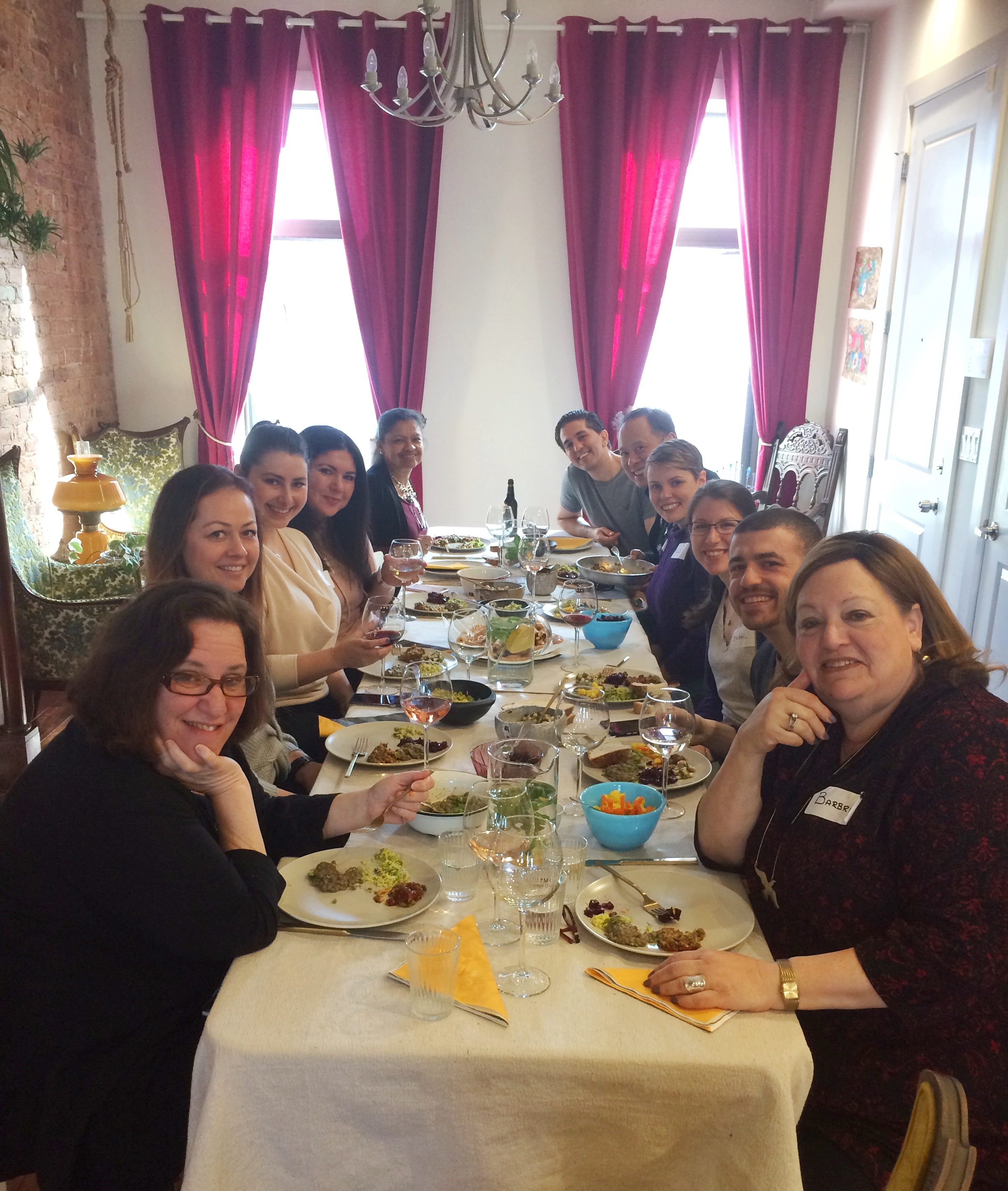 Middle Eastern Home Cooking class Bedford Stuyvesant, NYC, Jan 2017