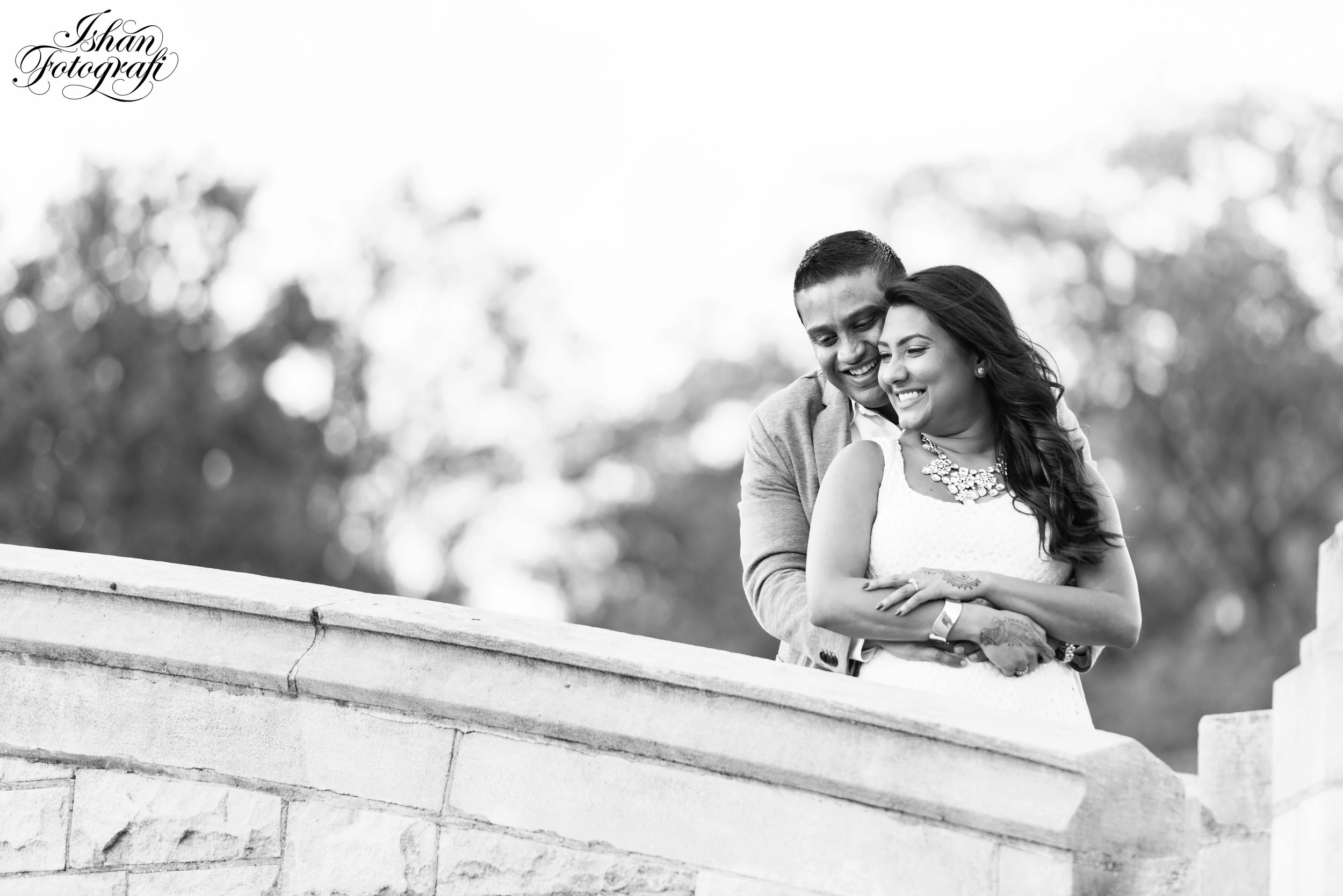 Fall engagement shoot in Verona Park, New Jersey.