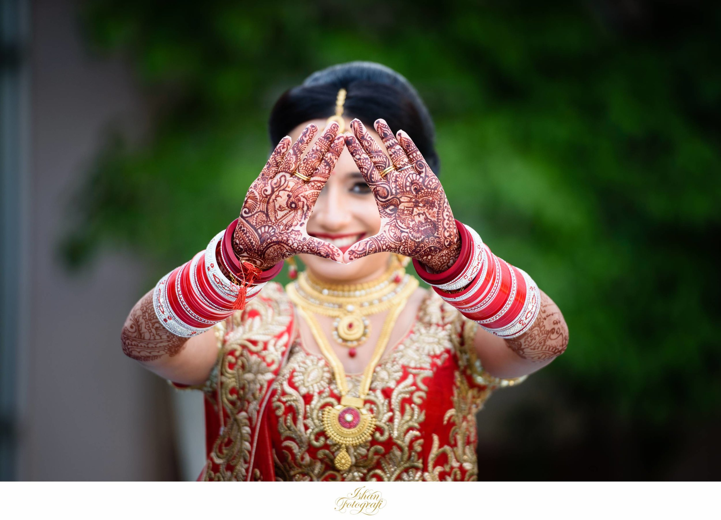 Henna is a integral part of hindu wedding ceremonies. They are typically applied to the bride and sometimes the grooms hand a few days before the wedding ceremony.