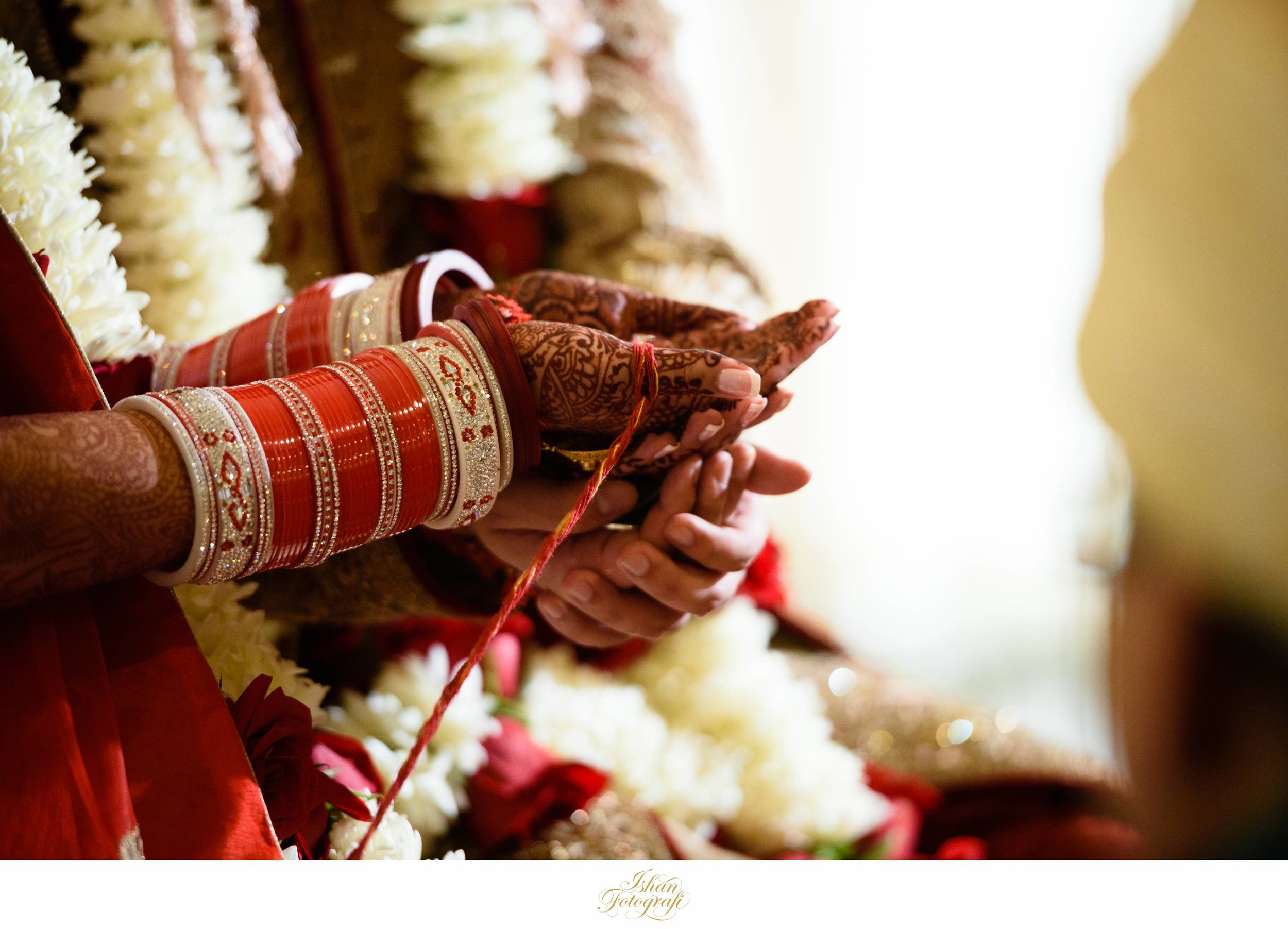 Hast Milap is a traditional Hindu ritual.