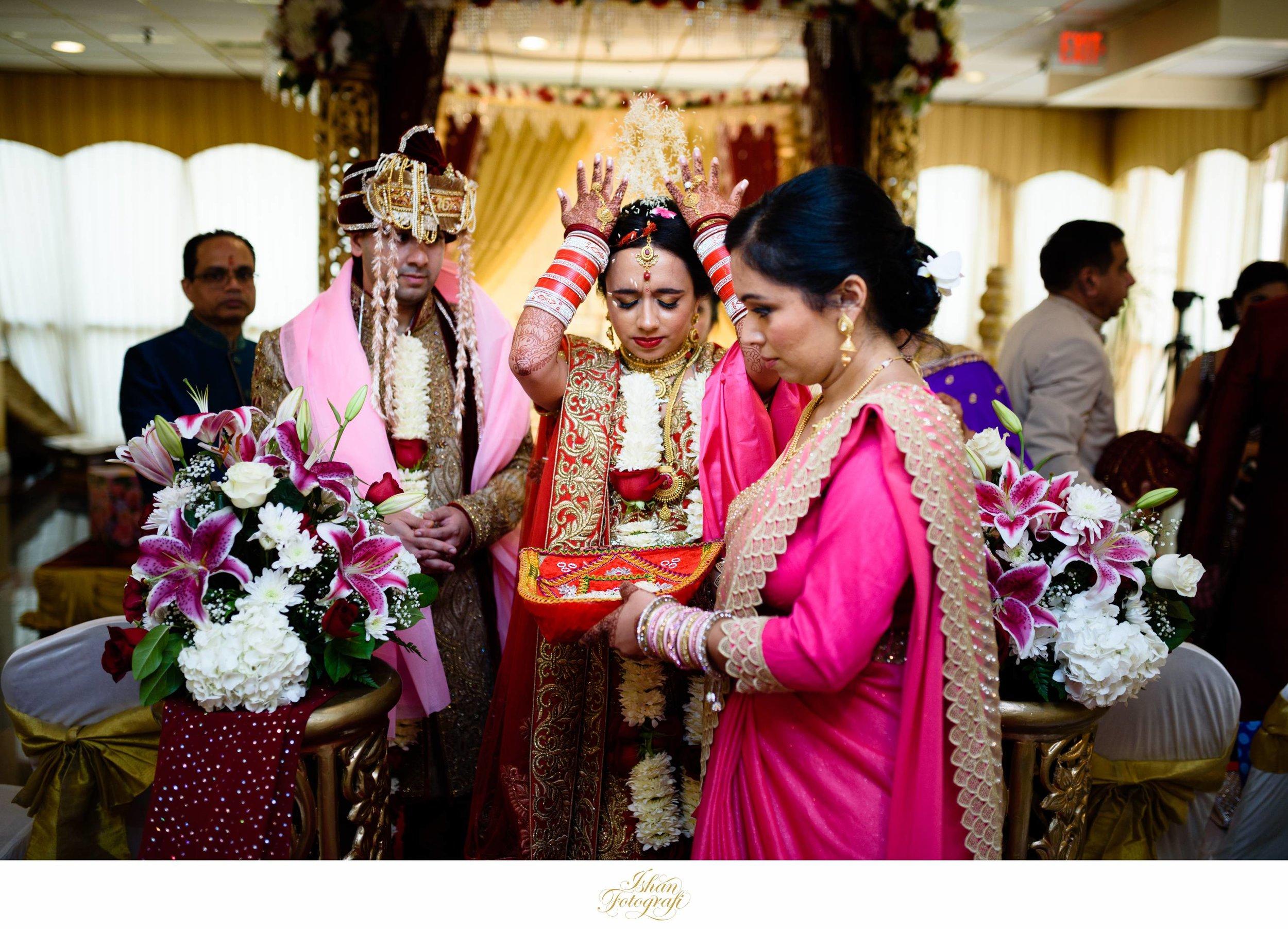 Vidaai is a traditional wedding recession.