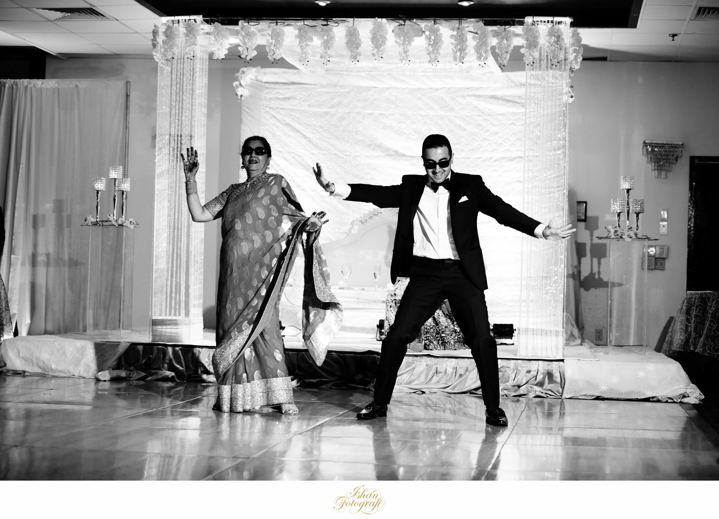 Son and Mother Indian wedding first dance.