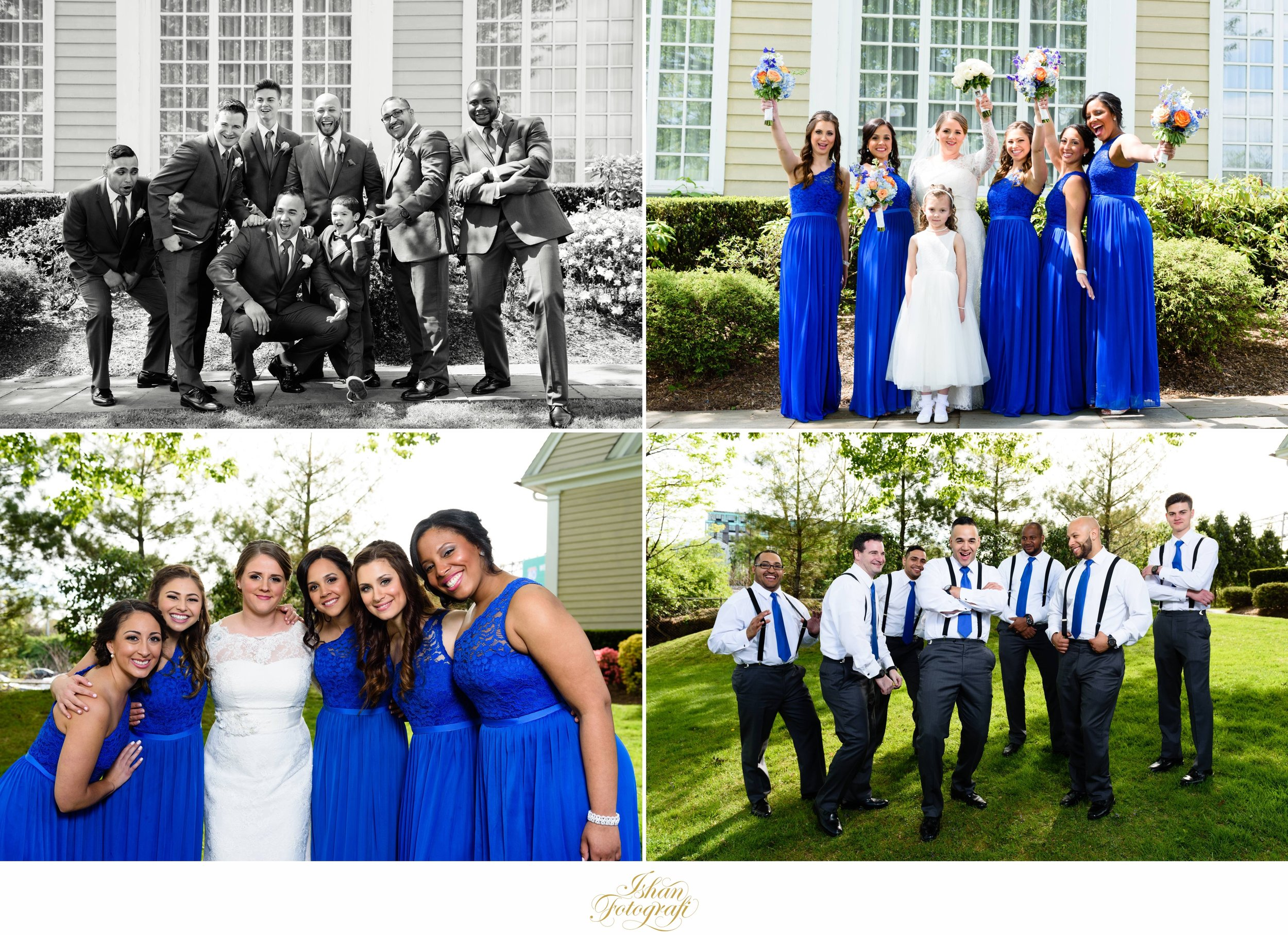 Amanda & Jeffrey had such a fun loving and amazing bridal party!Everyone was just so happy to be present celebrating our lovely couple's wedding day. This made our job as photographers so much more exciting! Such genuine moments cannot be posed.