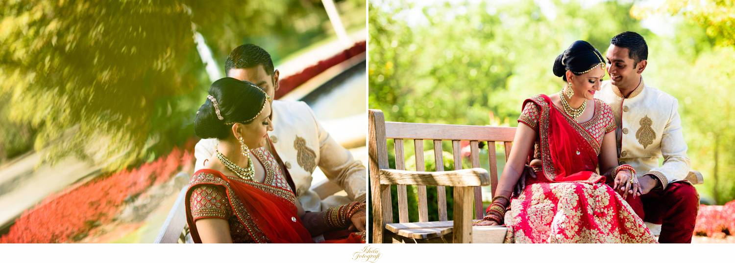 Wedding photos at the hilton pearl river NY. South asian weddings are so colorful!