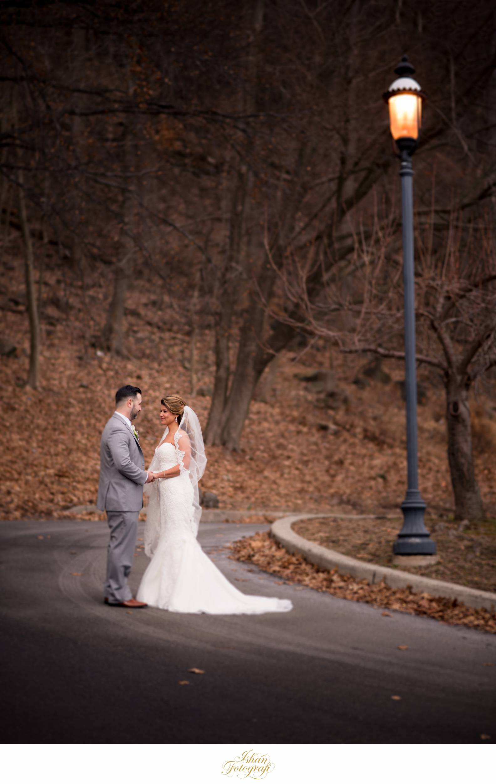 One of our favorite shots of Justin & Mehtap from their wedding at  The Bethwood , NJ.