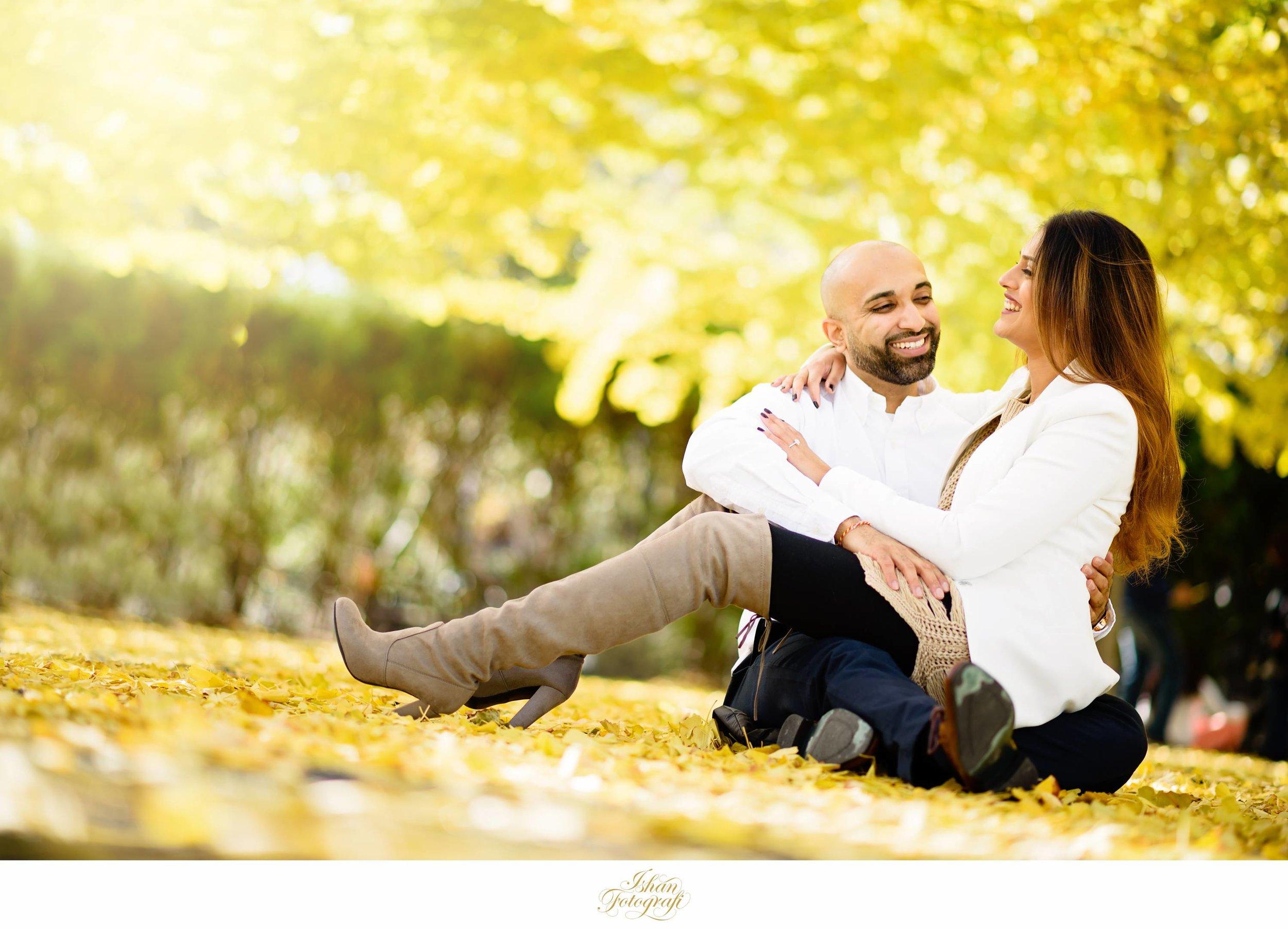 Engagement photos in Hoboken, NJ.