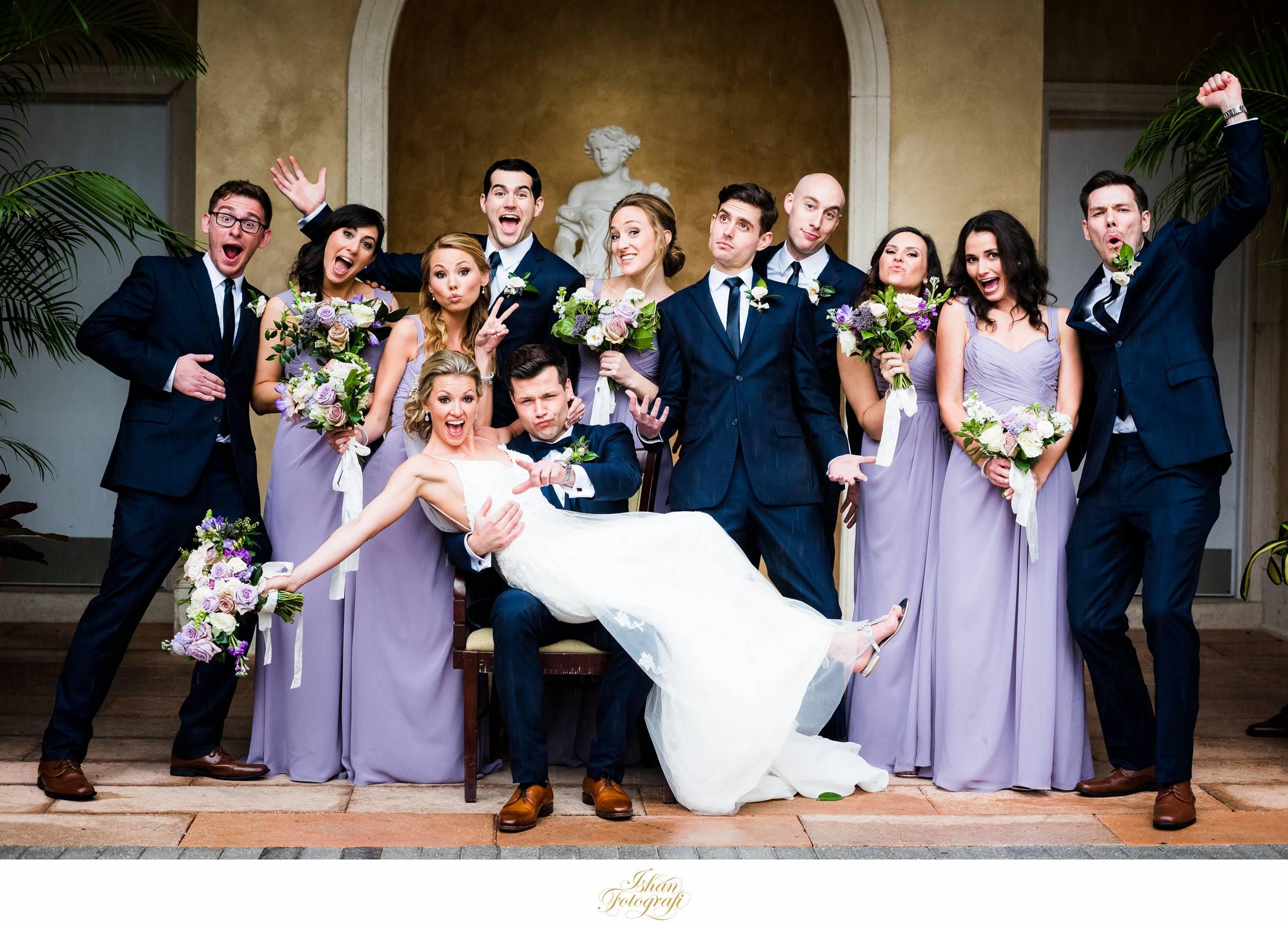 bridal-party-marco-ocean-beach-resort-weddings