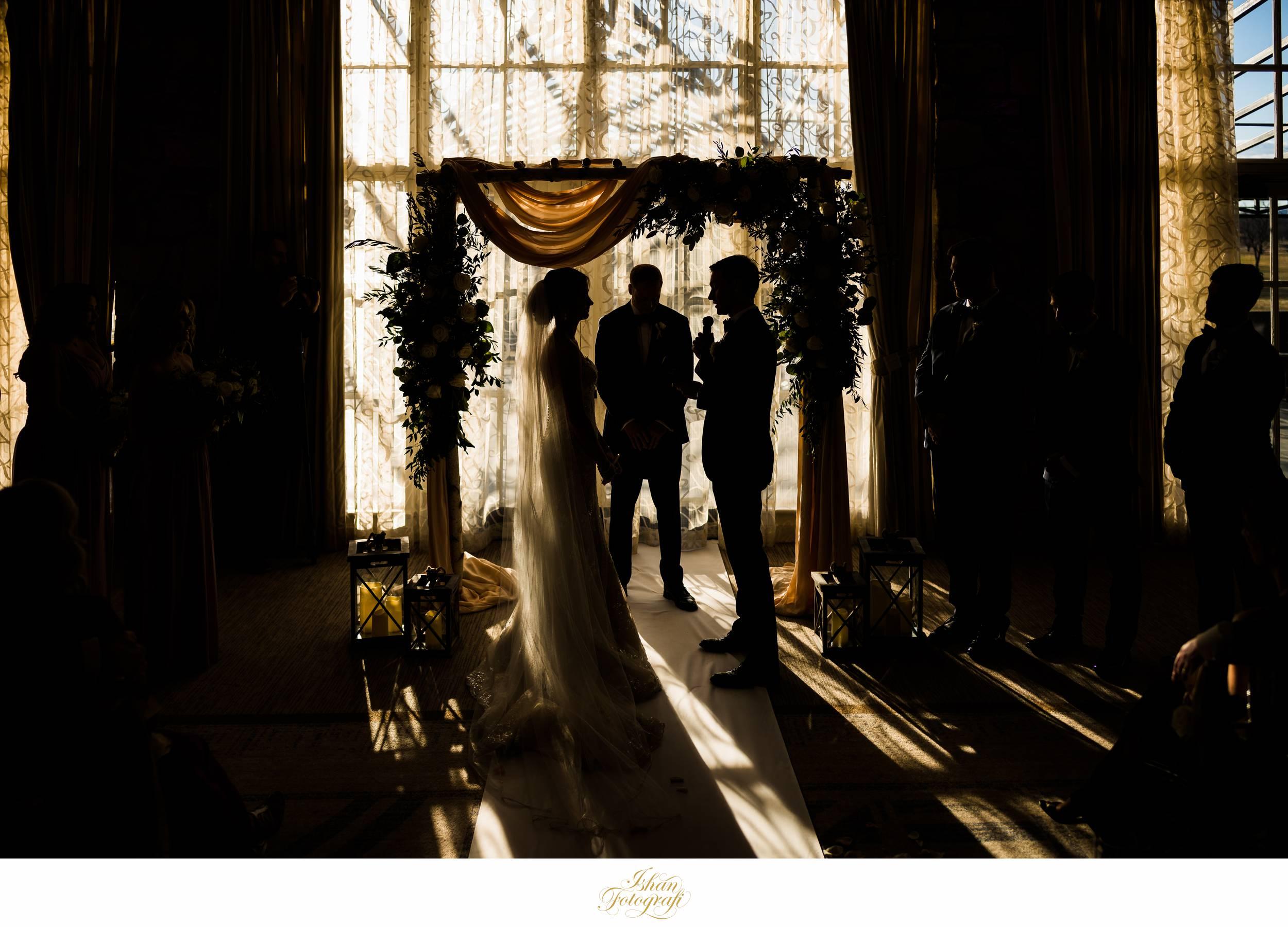 indoor-wedding-ceremony-fiddler's-elbow-country-club-nj