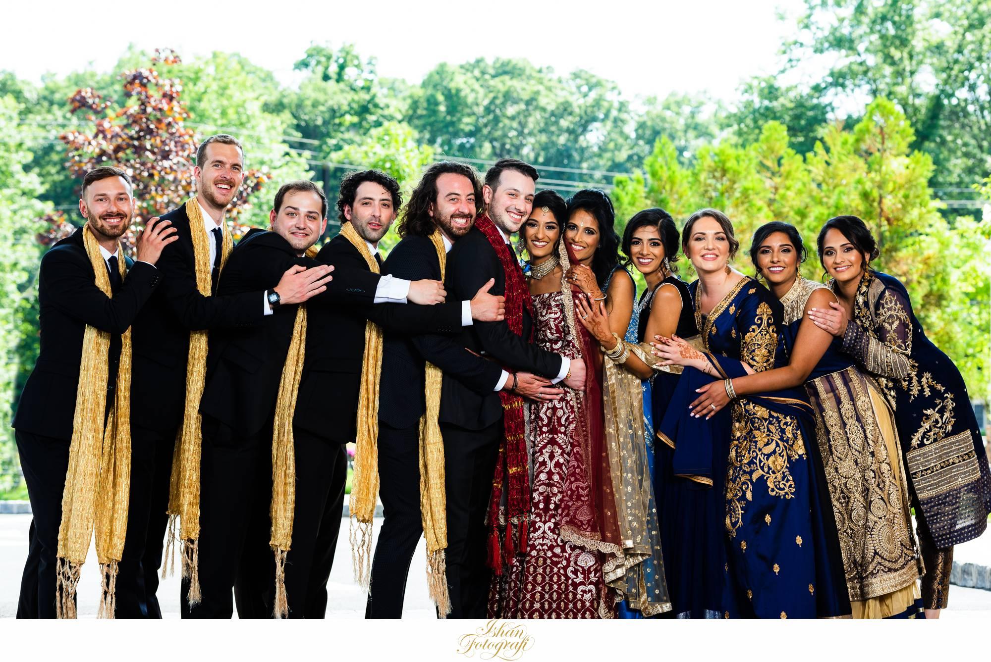 bridal-party-the-marigold-nj