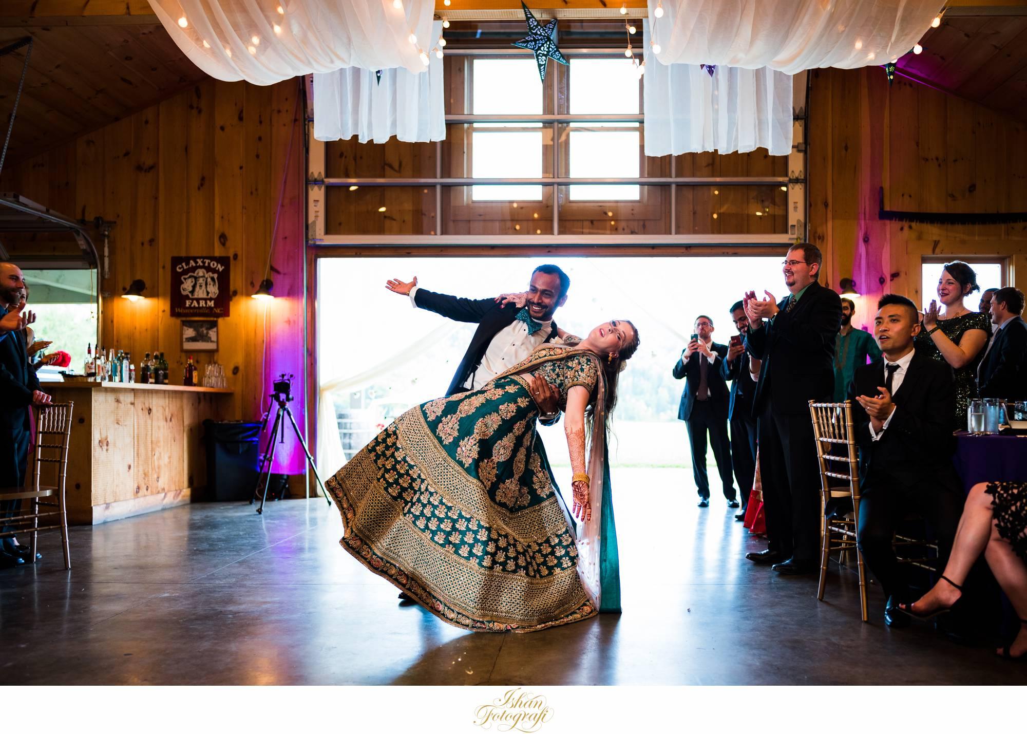 wedding-reception-claxton-farm-NC