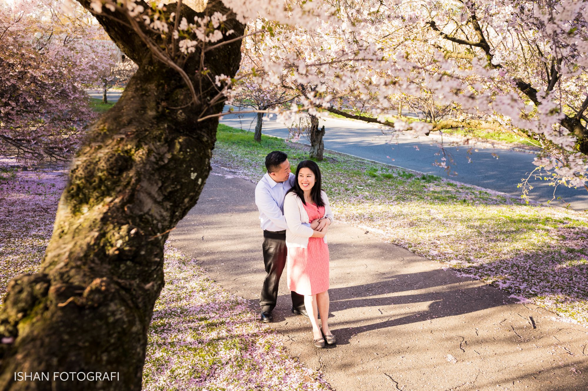 engagement-photos-at-branch-brook-park-new-jersey