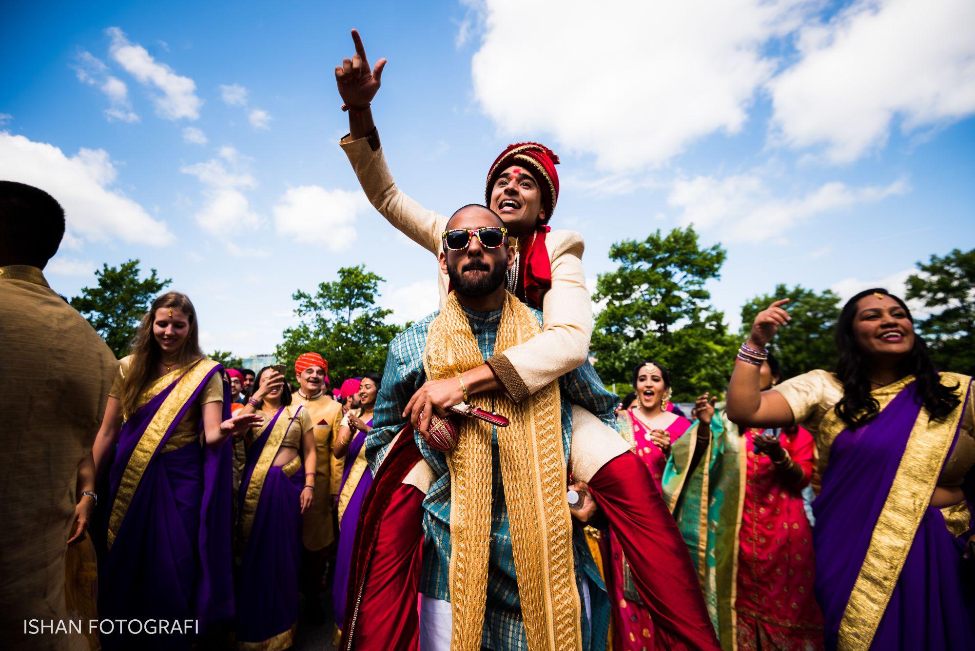 indian-wedding-baraat-sheraton-parsippany