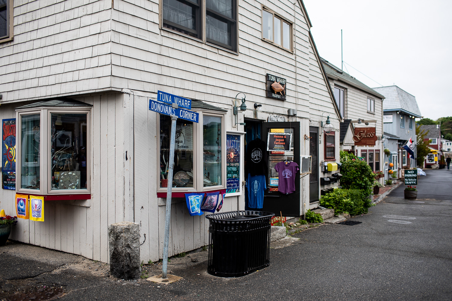 "With street names like ""Tuna Wharf,"" you know you've made it to a fishing village."