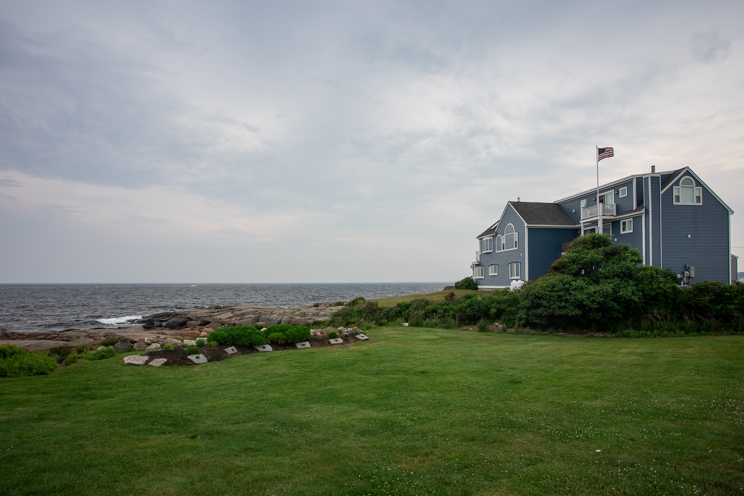 Views from Sohier Park (Nubble Point) in York, Maine.