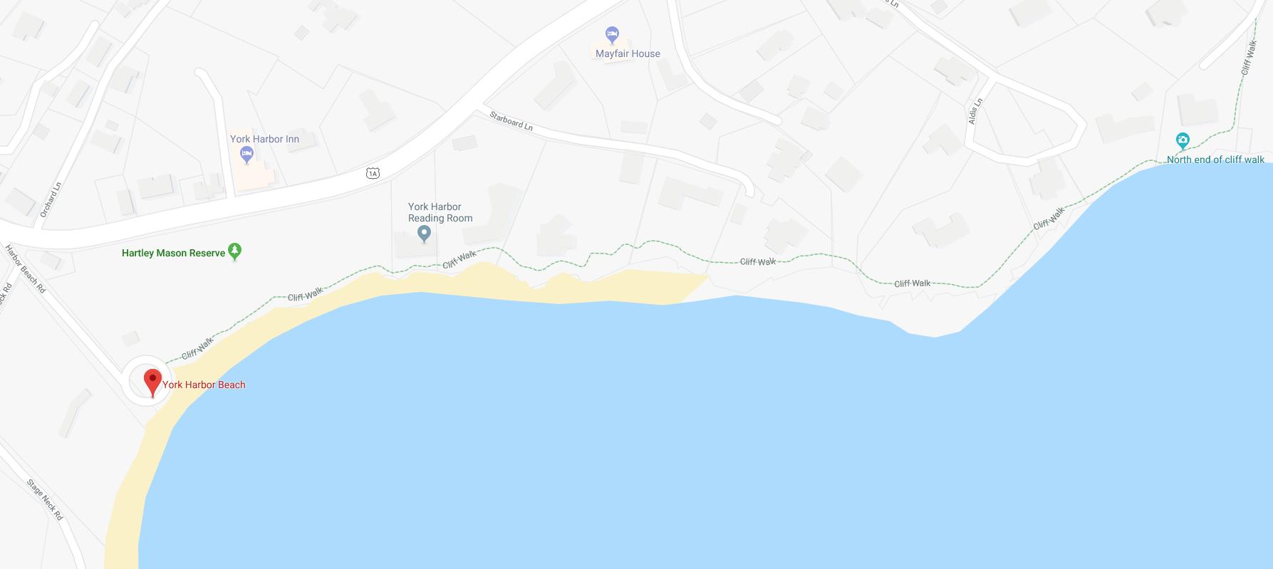 York Cliff Walk (detail)