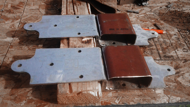 Metal fabrication on Treonna Villasenor's BIG SLIDING DOORS. RAIN HOUSE - designbuildbluff