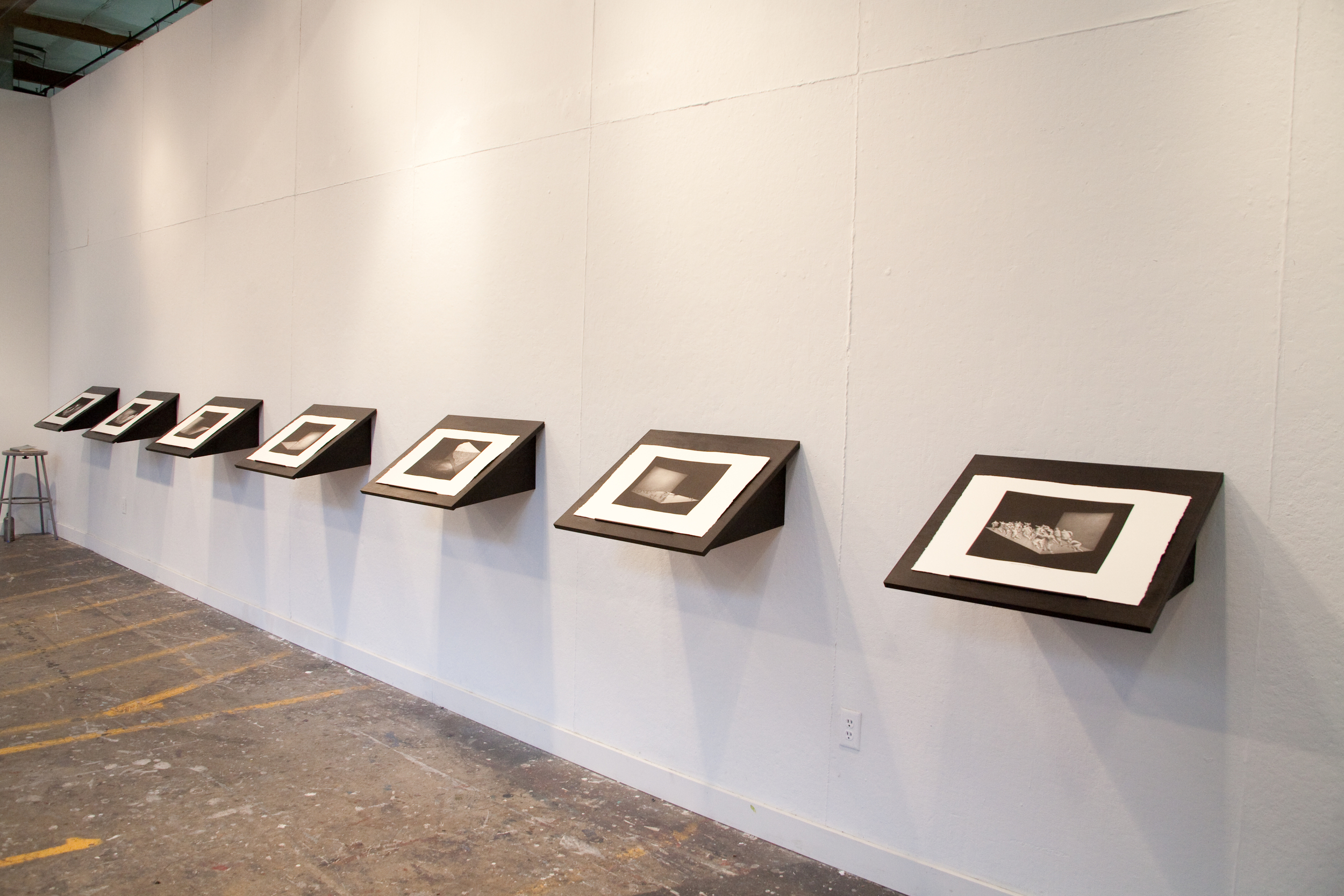 The work installed at Pacific Northwest College of Art, 2010.
