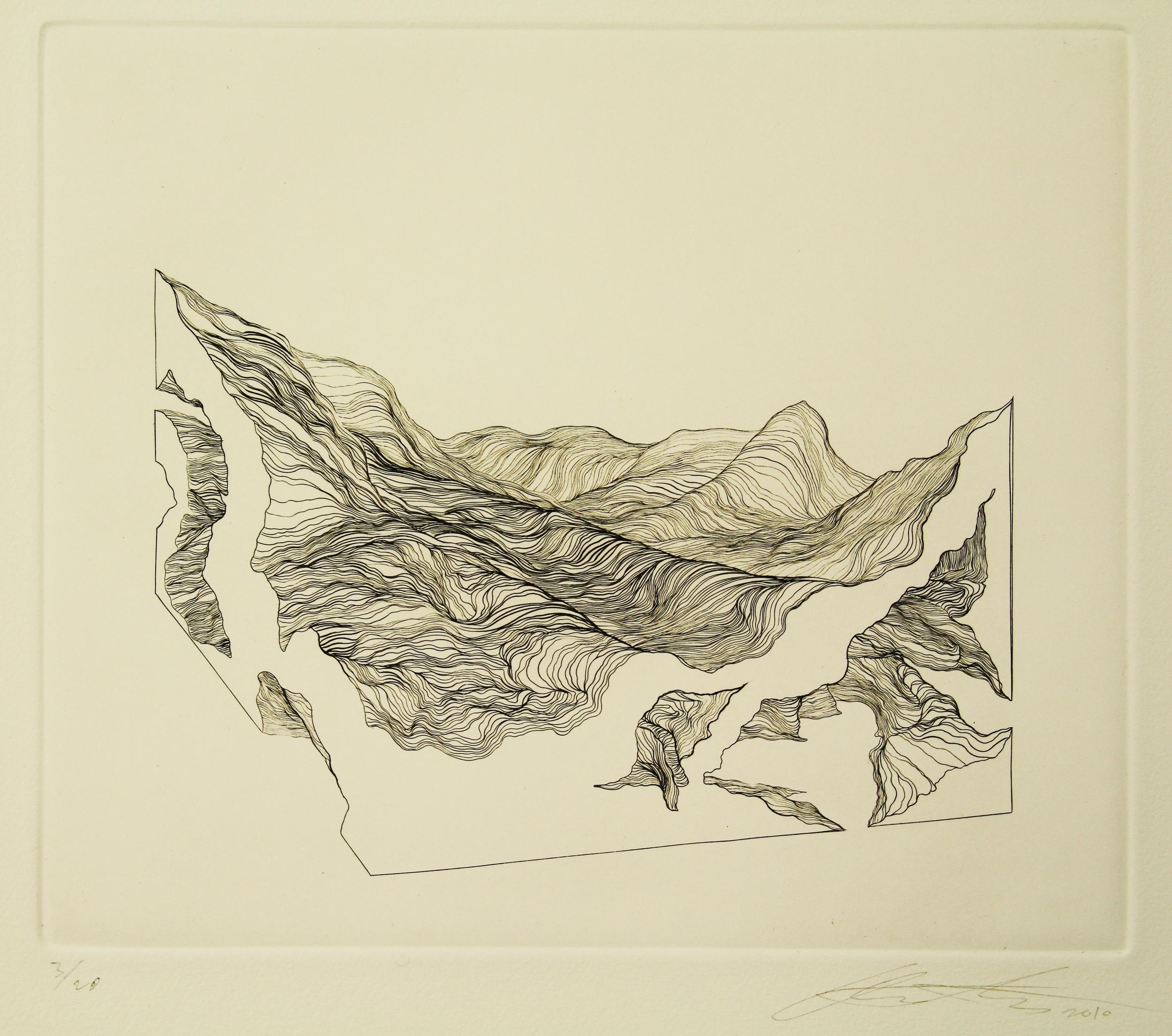 Contour/Landscape I