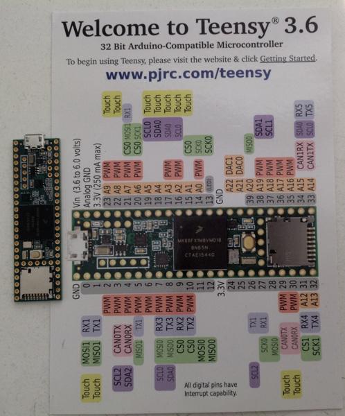 Teensy 3.6 32 Bit Arduino Compatible Microcontroller