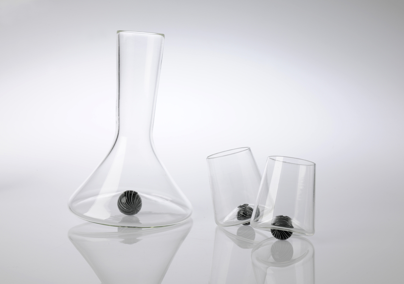 Rondure Decanter and Wine Tumblers.  Image by Michael Haines
