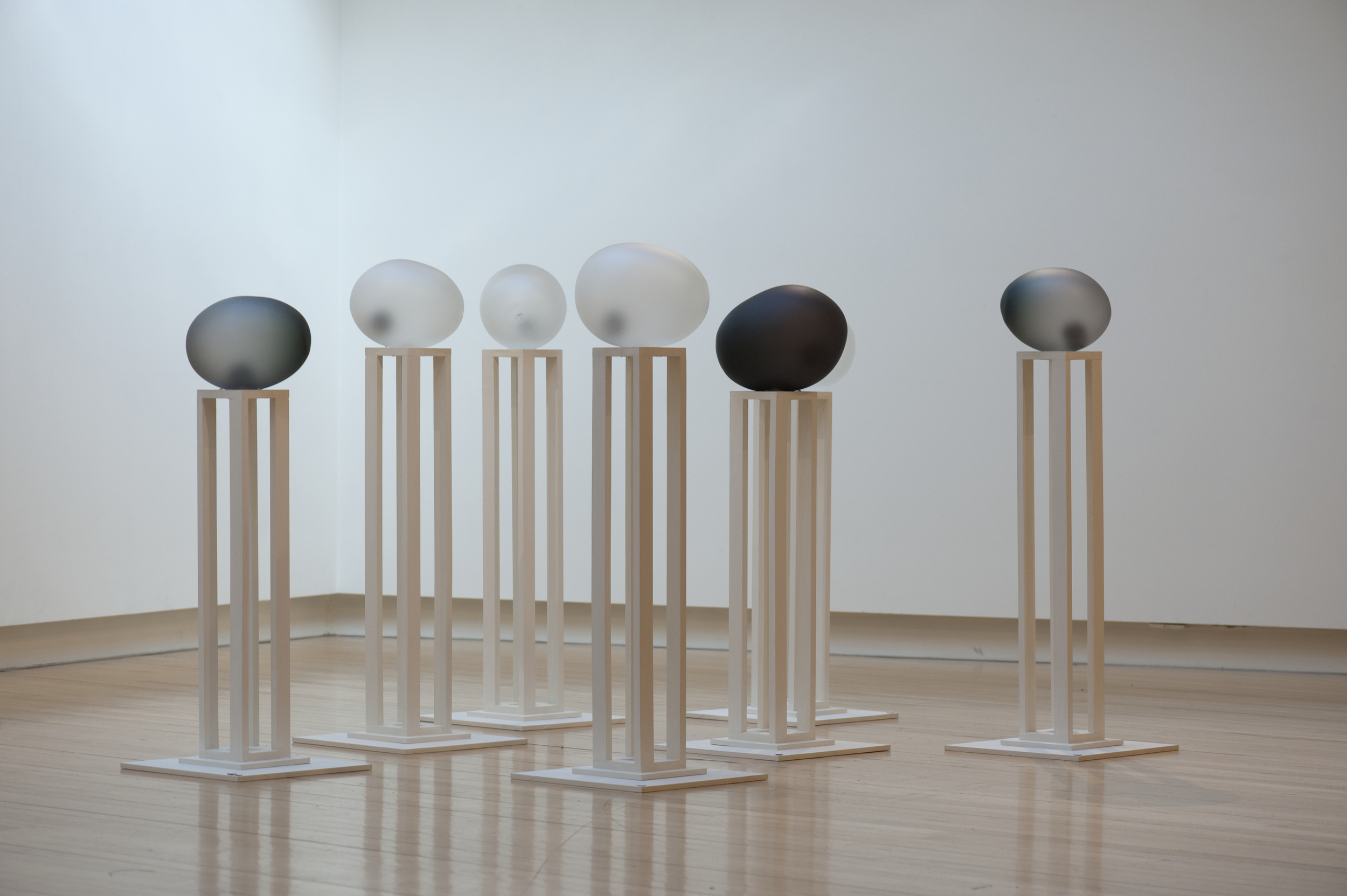 Installed at Light Square Gallery in 2008. Image by Steve Wilson