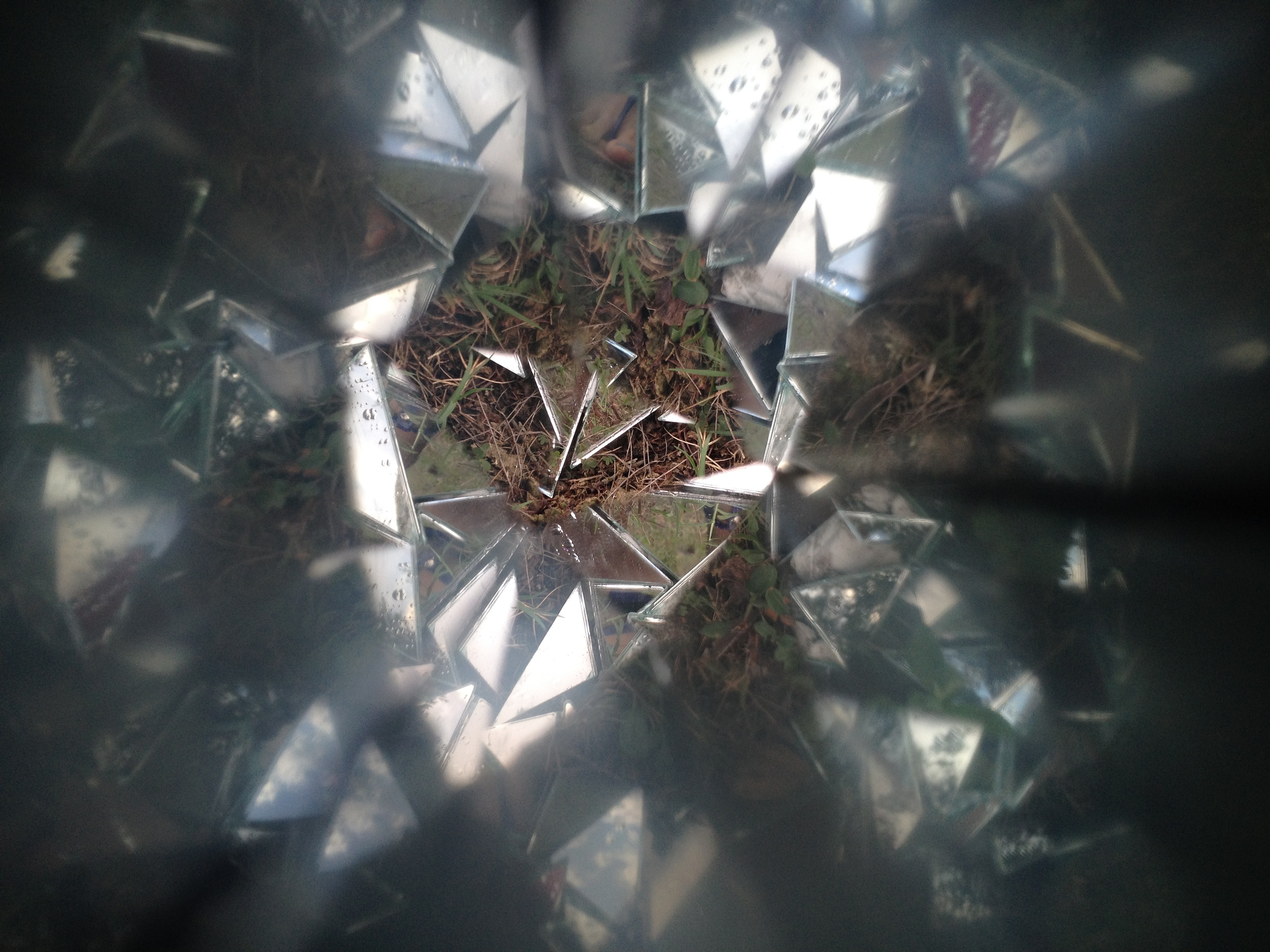 A view of my work through a kaleidoscope made by Heidi Kenyon